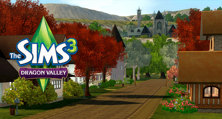 dragon valley gold sims 3