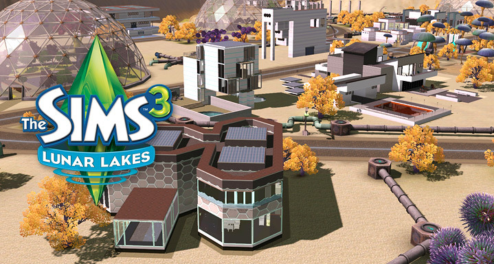 Lunar Lakes - Store - The Sims™ 3